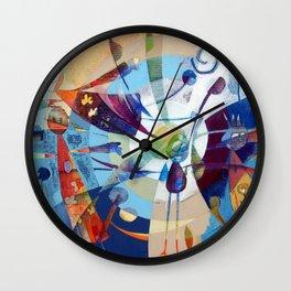 Il venditore di palloncini Wall Clock