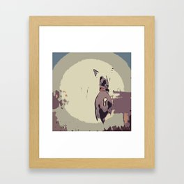 Chinese crested 8 Framed Art Print