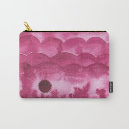 Color Project No. 4 Quinacridone Violet Carry-All Pouch