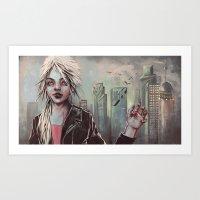 Bloodsucker Art Print