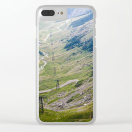 Transfagarasan Road Clear iPhone Case