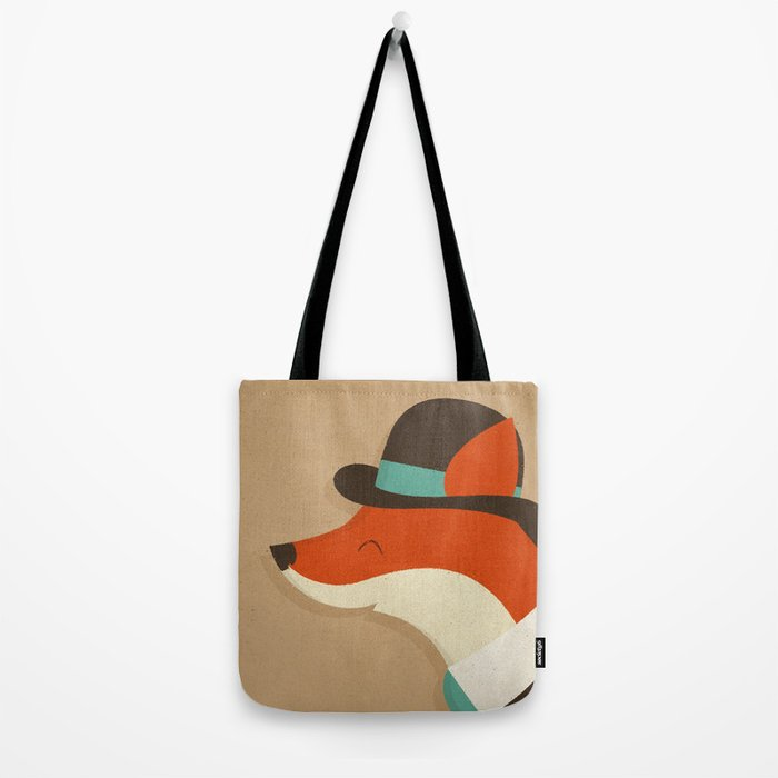 City Fox Tote Bag