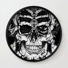 Demonic Skull Wall Clock