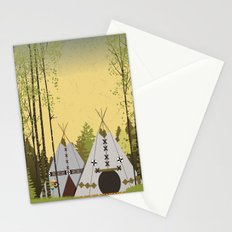 Tipis Stationery Cards