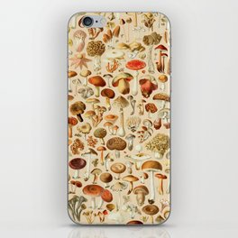 Vintage Mushroom Designs Collection iPhone Skin