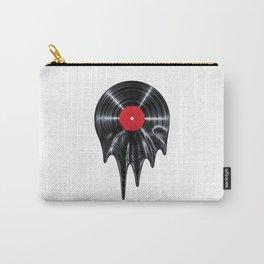 Melting vinyl / 3D render of vinyl record melting Carry-All Pouch