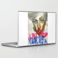 artrave Laptop & iPad Skins featuring Farewell ARTPOP by Abhivision