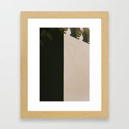 nuances de gris Framed Art Print