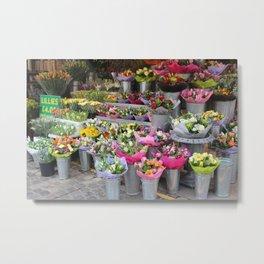 Local Flowers Metal Print