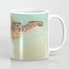 Sea Turtle Watercolor Coffee Mug