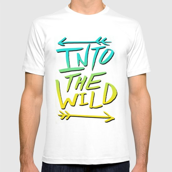 Into The Wild: Typography T-shirt