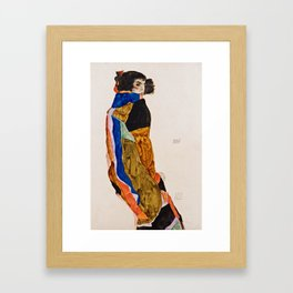 Egon Schiele - Moa Framed Art Print