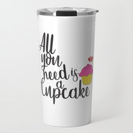 Cupcake Lover Travel Mug
