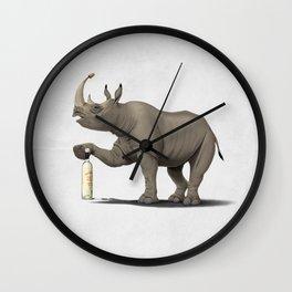 Cork it, Dürer! [HD] (Wordless) Wall Clock