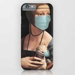 Lady with an Ermine, High Renaissance iPhone Case