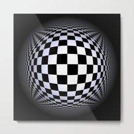black-and-white -01- Metal Print