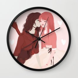 Bubbline Wall Clock