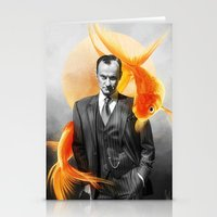 goldfish Stationery Cards featuring Goldfish by tillieke