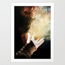 On your dreams, Art Print