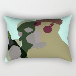 Spitfire Endgame Minimalism Rectangular Pillow