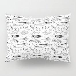 Accoutrements - white Pillow Sham