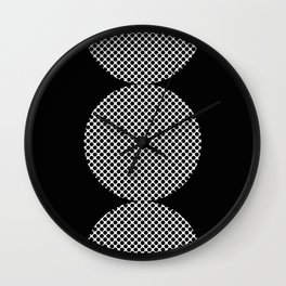 It could be a Semicolon...BUT...there is an additional dot. So it's more like a scorpion tail. Wall Clock