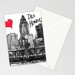 I love Des Moines Stationery Cards