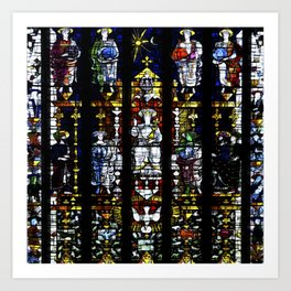 St Mary's Window Art Print
