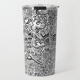 Crazy doodles Travel Mug