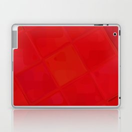 Re-Created Mirrored SQ LXXXI by Robert S. Lee Laptop & iPad Skin
