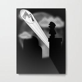 The Plumber Signal Metal Print