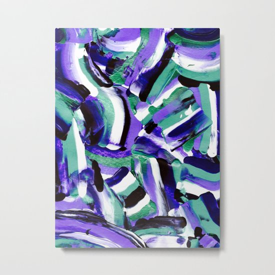 Tara - Abstract Metal Print