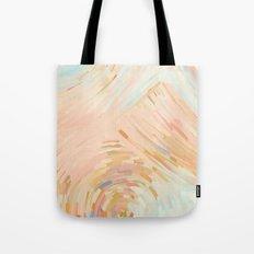 Pink Ripples Tote Bag