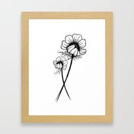 A N E M O N E Framed Art Print