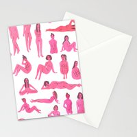 Naked Ladies Stationery Cards