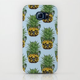 Pineapple French Bulldog iPhone Case