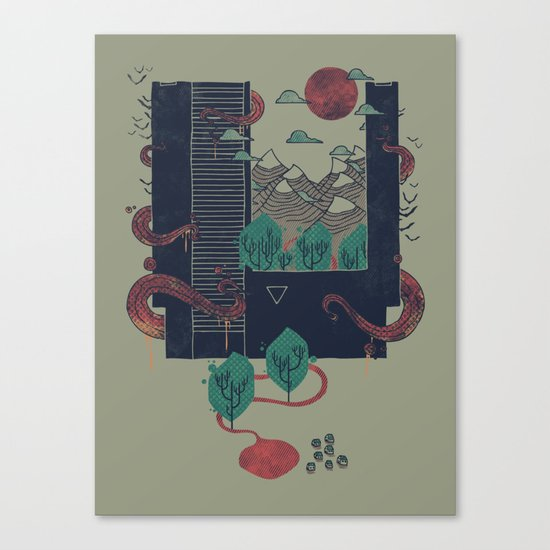 A World Within Canvas Print