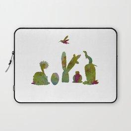Cacti and ferret art Laptop Sleeve