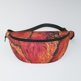 Phoenix in Red Fanny Pack