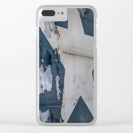 Star of Freedom Clear iPhone Case