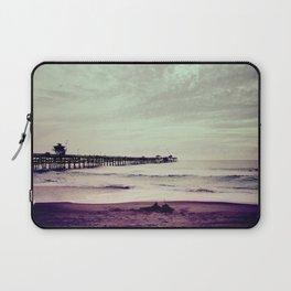 San Clemente Pier Laptop Sleeve