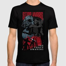 Kylo Ren Black Mens Fitted Tee LARGE