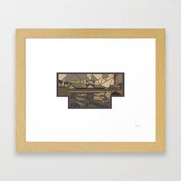 125 Street Framed Art Print