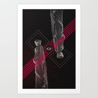 roman Art Prints featuring Roman Lines by Dgcan