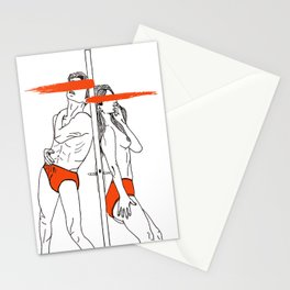 LOVE is obstacles Stationery Cards