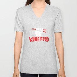 KUNG FOOD Unisex V-Neck