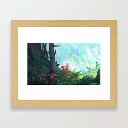 The Second Stone Framed Art Print
