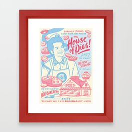 House of Pies Framed Art Print