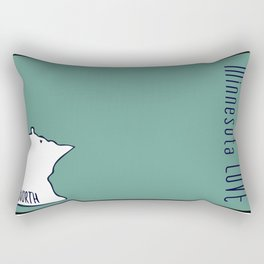 We are North 2 Rectangular Pillow
