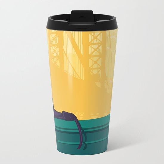 Urban jaguar Metal Travel Mug